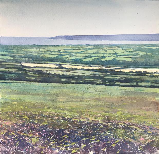 Mounts Bay from Godolphin Hill
