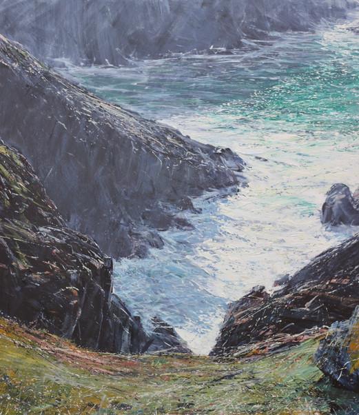 Big Swell, Pendeen Cliffs *SOLD*