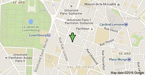 Plan d'accès Institut Curie