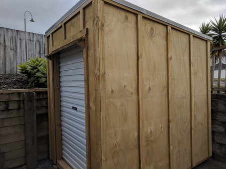 Another shed built
