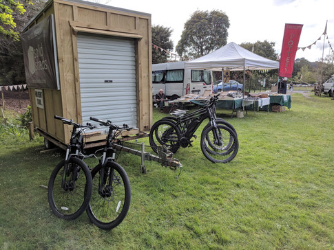 Shed and Bikes
