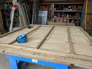 Building walls for sheds