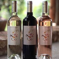 Domaine Lolicé Muse Voltige Vin Rouge Rosé et Blanc