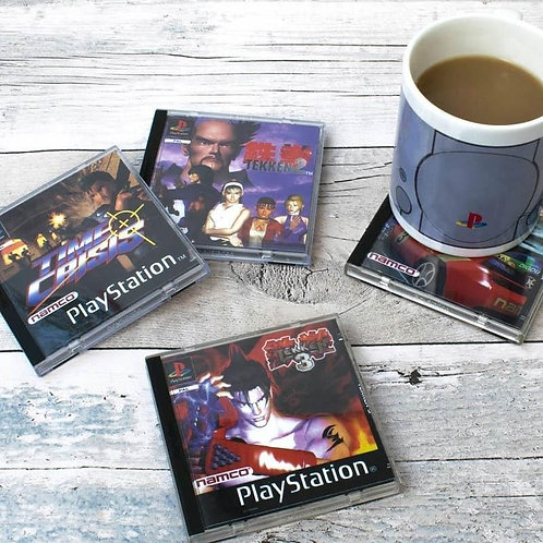 Playstation Coasters 4pack