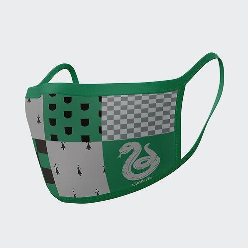 2 Slytherin face masks