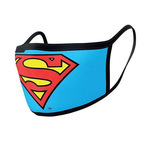 Superman Face Masks 2-Pack Logo