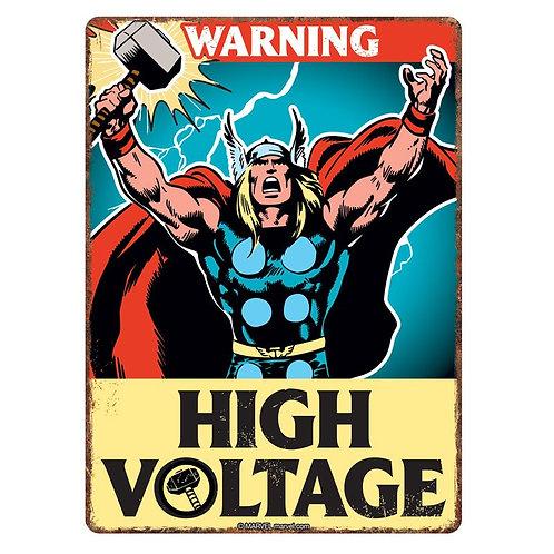 Thor tin sign