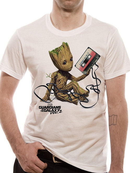 Guardians of the Galaxy groot and tape