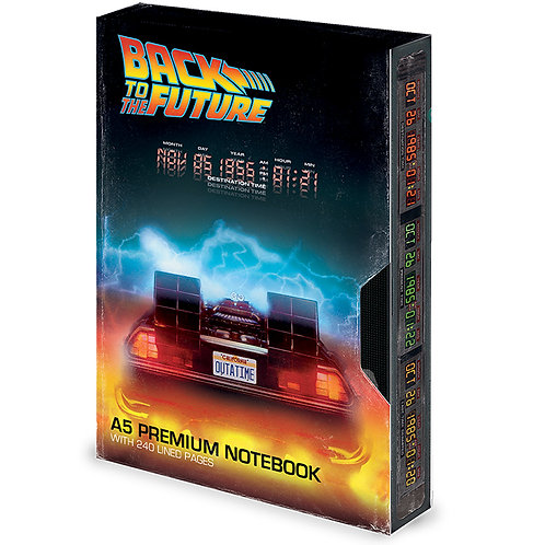 Back to the Future (Great Scott) VHS  Premium A5 Notebook