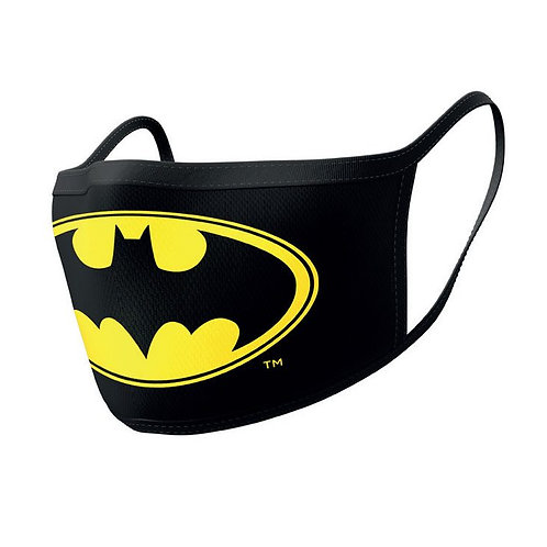 Batman Face Masks 2-Pack Logo
