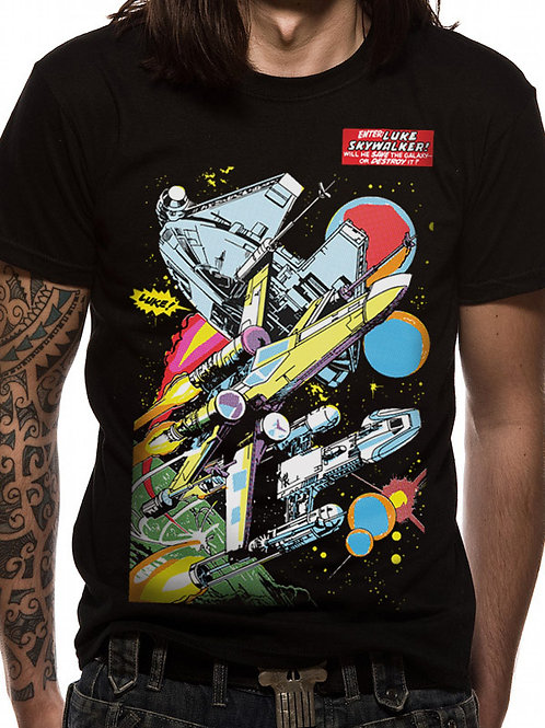 Star Wars Retro comic