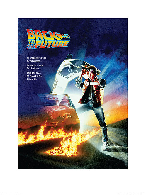 Back To The Future (One Sheet)  Art Print