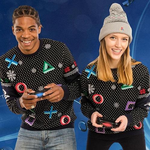 Playstation Christmas Jumper