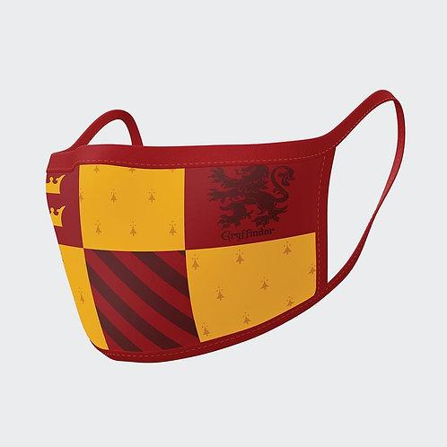 2 Gryffindor face masks