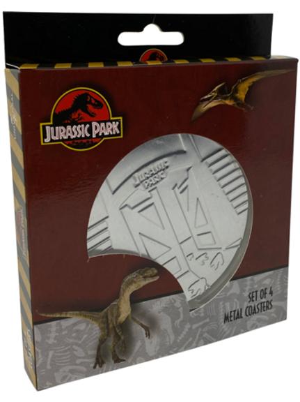 Jurassic Park coaster 4 pack