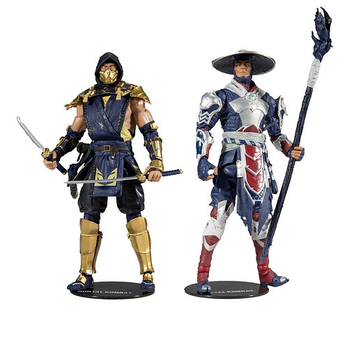 Scorpion & Raiden Action Mortal Kombat Figure 2-pack