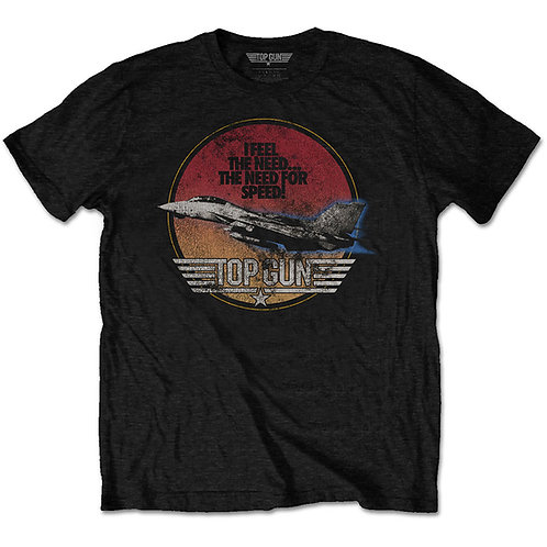 TOP GUN UNISEX TEE: SPEED FIGHTER