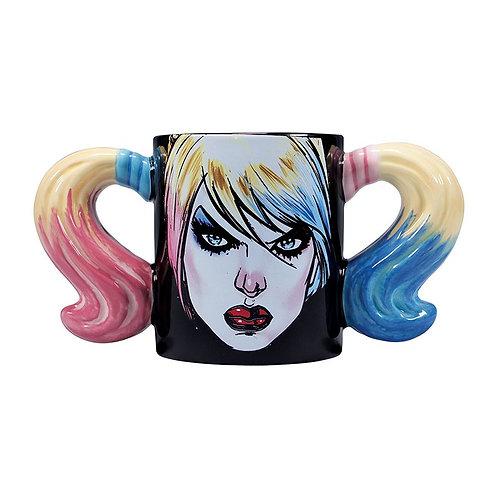 Harley Quinn shaped mug