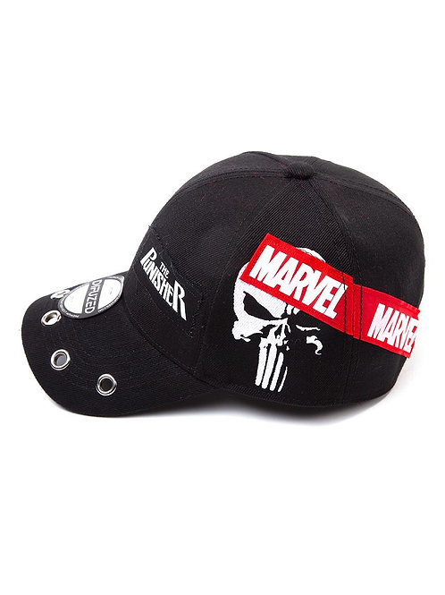Punisher patches cap
