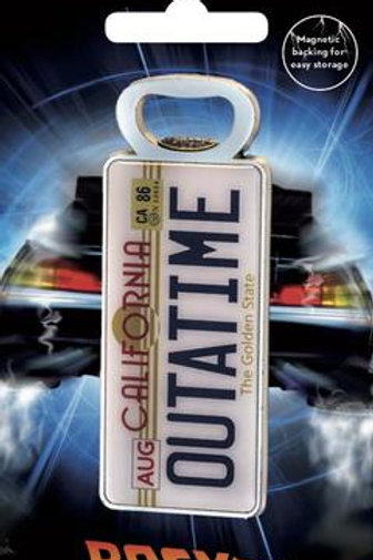 Back to the future bottle Opener