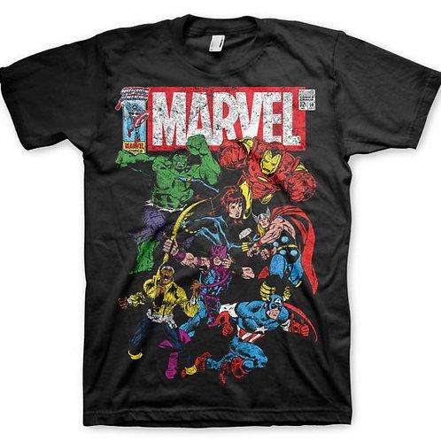 Marvel retro poster T-shirt