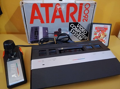 Original boxed Atari 2600 junior console