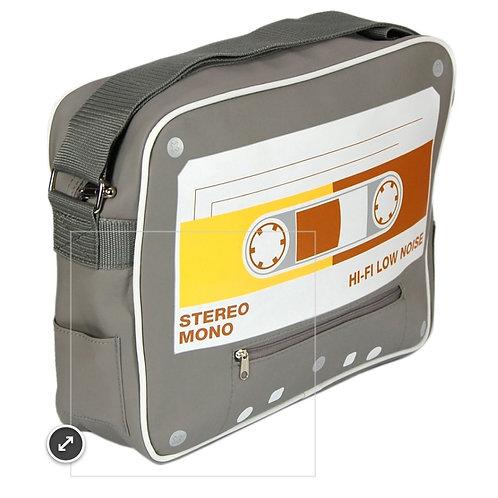 Cassette tape mesanger bag