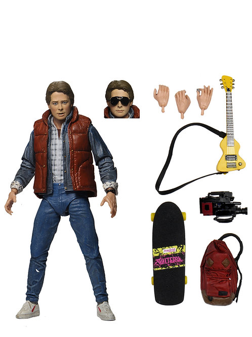 NECA back to the future Marty part 1