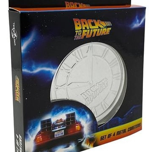 Back to the future coasters 4 pack