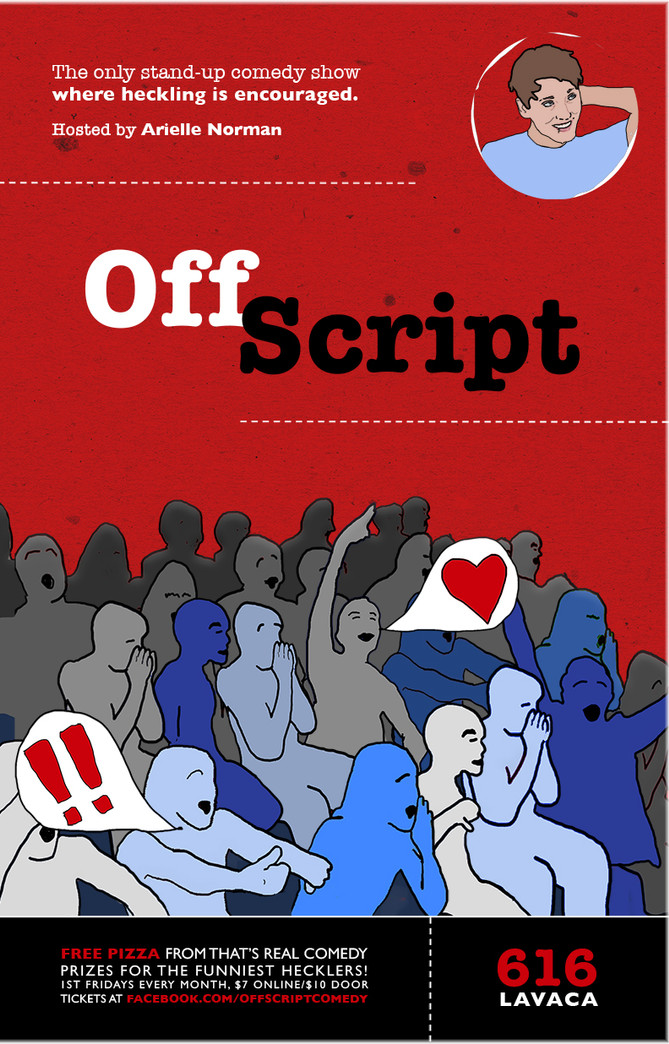 Off Script Poster 11x17