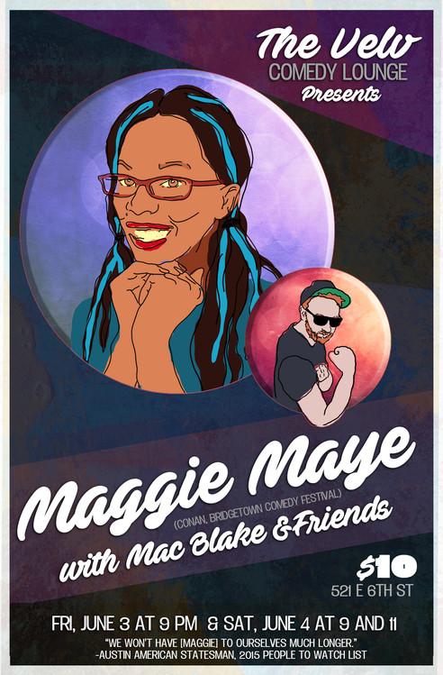 Maggie Maye at the Velv