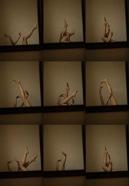 """limited edition print 1/1 """"legs and mirror"""" 100x80 on Alu Dibond"""