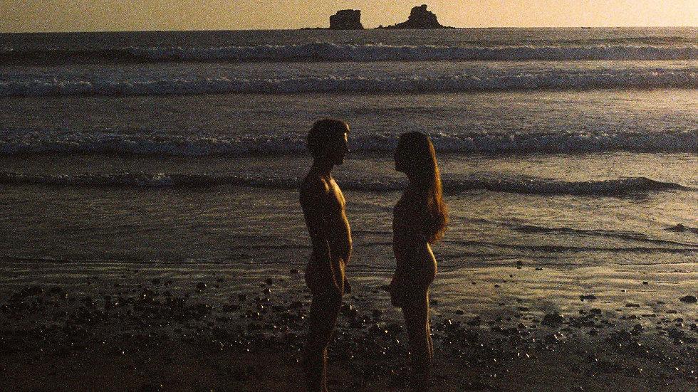 "limited edition print 1/1 ""sunset formation"" 100x80 on Alu Dibond"