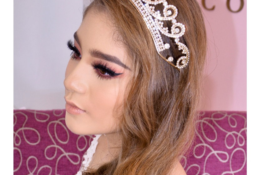 Tiara XV rose gold princess