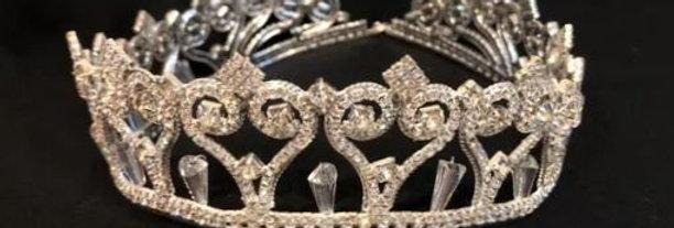 Tiara Redonda XV grande plata