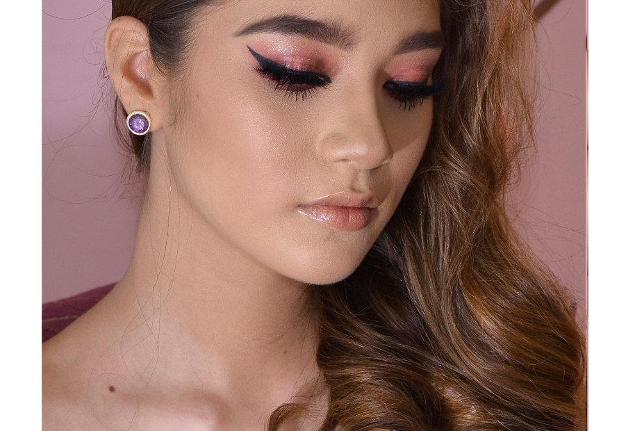 Tiara Novia rose gold chica