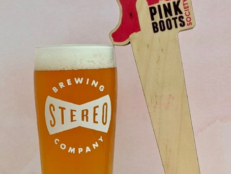 Pink Boots Society & Stereo Brewing Unveil - Rebel Rebel