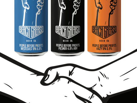 Beach Grease Beer Co. Launches 'People Before Profits' with Beer Savage