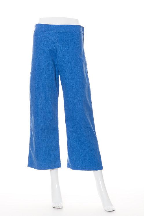 ソフトデニムワイドパンツ Soft Denim Wide Pants Blue