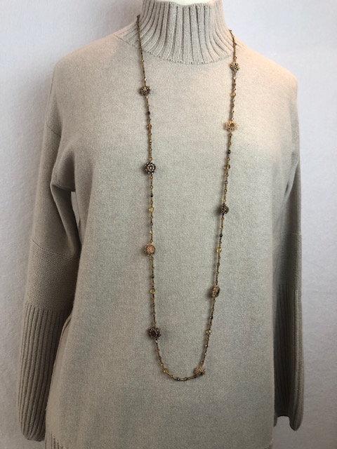 Collier petites perles Utz