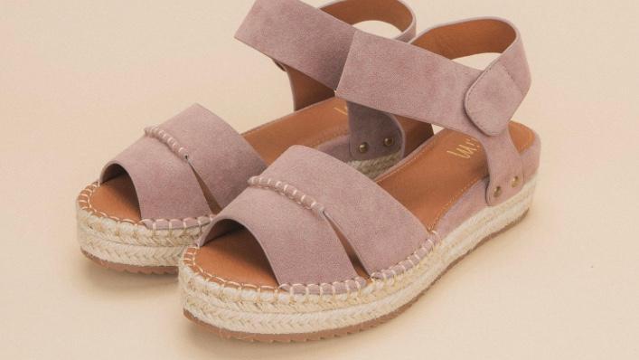 Mi.iM Amber Espadrille Platform Sandal