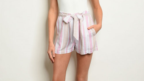 Neapolitan Short With Tie