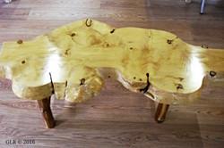 Clear Edge Spruce Table