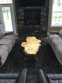 Spruce Burl coffee table