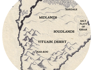 Explore Leira Blog Tour: V is for Vituain Desert