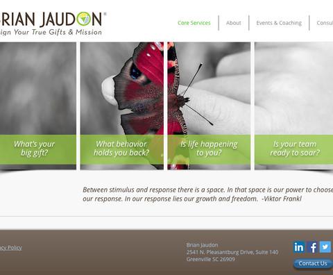 Brian Jaudon Website