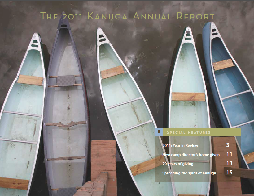 Kanuga Annual Report