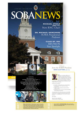 Johns Hopkins Soba News