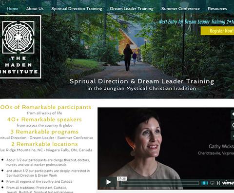 Haden Institute Website