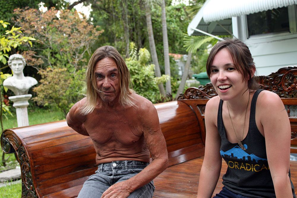 Interview with Iggy Pop